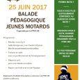 Bonjour à tou(te)s Balade pédagogique jeunes motards et relais Calmos du 25 juin Il s'agit d'un simple rappel, puisque déjà évoqué dans la précédente newsletter. Le relais Calmos se tiendra […]