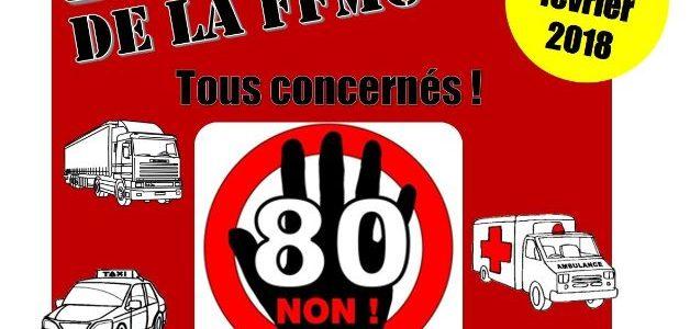 Bonjour à toutes et à tous, Comme indiqué dans ma précédente newsletter, la FFMC88 organise une manifestation le samedi 24février contre la limitation à 80km/h, qui devrait avoir un caractère […]