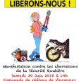 La FFMC Ile-de-France, en association avec la FBF, le Vespa Club Paris-Île de France, la FFAC, 40Millions d'Automobilistes, l'UDELCIM-Rouler Libre, organise une grande manifestation à Paris contre les aberrations de […]