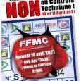 Pour participer tranquillement à la manifestation contre le contrôle technique le samedi 10 avril à 13 h 30 à Épinal, vous devez avoir ces trois documents sur vous (en plus […]